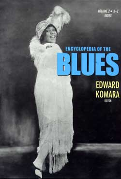 Encyclopedia of the Blues. New York - London, Routledge, 2006 (copertina)